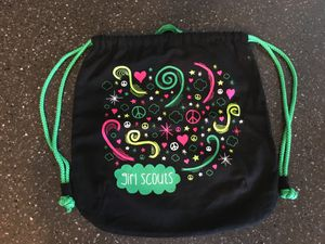 Girl Scouts Black Canvas Mini Backpack for Sale in Hampton, VA