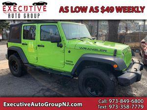 2012 Jeep Wrangler for Sale in Irvington, NJ