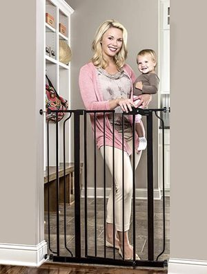 New in Box - 2 AVAILABLE - Regalo Easy Step Extra Tall Baby Gate / Dog for Sale in Cumming, GA