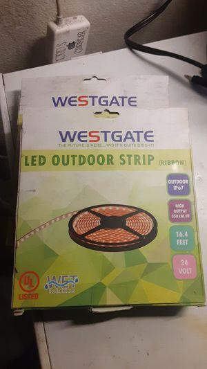 Westgate LED outdoor strip 3000K weatherproof for Sale in Whittier, CA