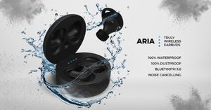 Aria Waterproof Earbuds, Bluetooth 5 & 32h Battery, by Xfyro. for Sale in Bothell, WA