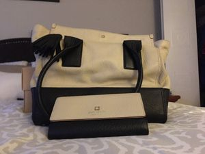 Kate Spade purse and matching wallet for Sale in New Milford, CT