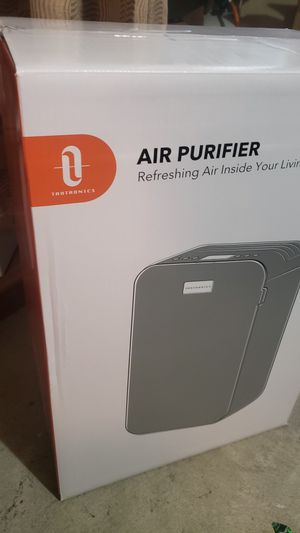 Air Purifier for Home Smoke Pollen Pet Dander, Air Cleaner with H13 True HEPA Filter 3 Fan Speeds Low Working Noise Air Quality Indicator for Sale in Montebello, CA