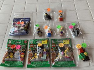LEGO Minifigures $2 - $15 each or All for $40 Includes 1 keychain figure. for Sale in Boston, MA
