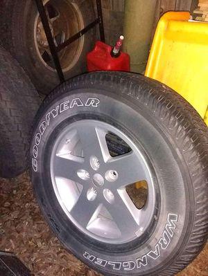 5 set of jeep wheels for Sale in Denver, CO