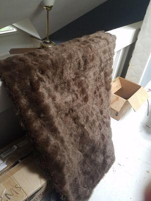 Faux fur blanket for Sale in Seattle, WA