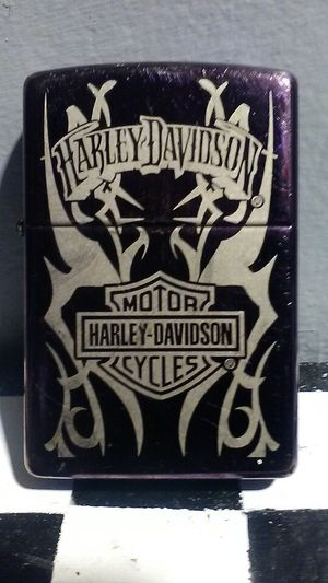 Zippo with Harley Davidson logo for Sale in Carmichael, CA