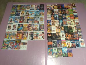 100 VHS Tapes for Sale in Woodstock, GA