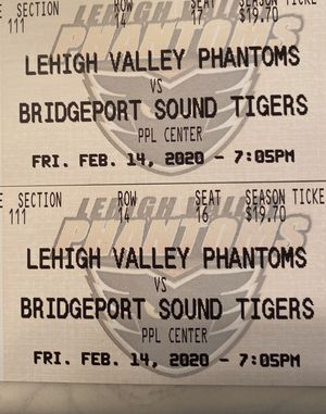 Phantoms tickets for Sale in Sellersville, PA