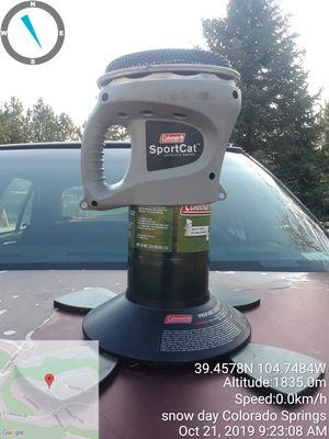 Coleman sportcat propane heater for Sale in Manitou Springs, CO