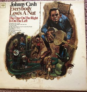 "Johnny Cash ""Everybody Loves A Nut"" Vinyl Album $12 for Sale in Ringgold, GA"