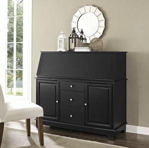 Secretary Desk - Retail $699by Sullivan Black Wood for Sale in Redwood City, CA