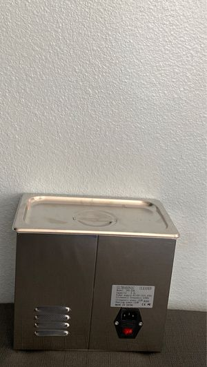 Digital ultrasonic cleaner for Sale in San Bernardino, CA