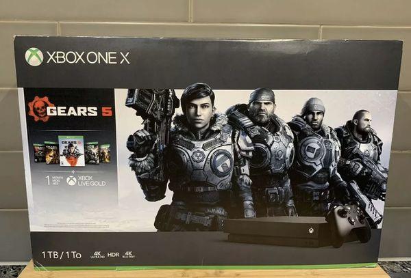 Xbox One X 1TB Gears 5 Bundle