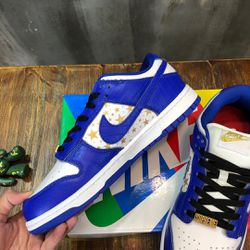 Nike Sb Dunk Low Supreme Stars Hyper Royal @1 for Sale in Los Angeles,  CA