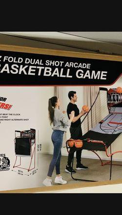 New EZ Fold Dual Short Arcade Basketball Game-Deltona-(32725) for Sale in Deltona,  FL