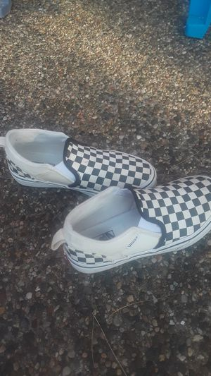Checkered Van's Shoes for Sale in St. Cloud, MN