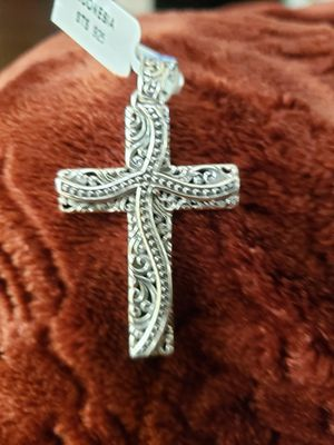 Sterling silver 925 cross ✝️ Pendant ❤💙💜💚💛💕💕 for Sale in Round Rock, TX