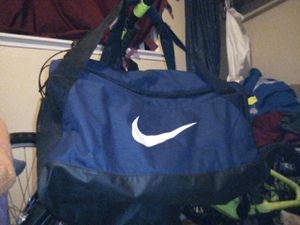 "Nike Blue 24"" Zippered Duffle Gym Bag for Sale in Tacoma, WA"