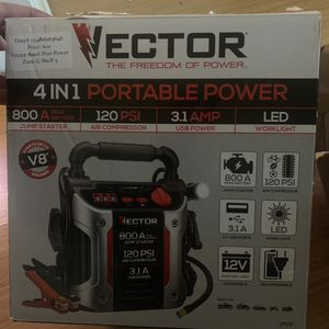 NEW Vector Power Station/air compressor (retail $85+) for Sale in Jacksonville, FL