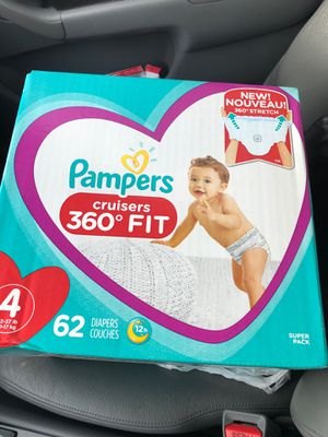 Pampers sz 4 for Sale in Kent, WA
