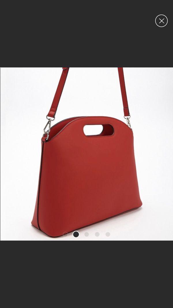 Forever 21 red crossbody bag