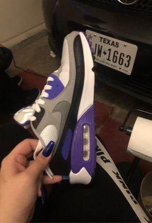 nike air max purple, white, gray and black for Sale in Grand Prairie, TX
