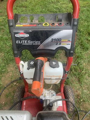 Elites series Pressure washer work perfect 250 for Sale in North Plainfield, NJ