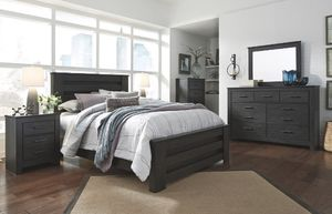 Brinxton King 6 Piece Bedroom Set with Mattress for Sale in Knoxville, TN