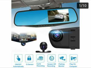 CAMARA FRONTAL Y REVERSA HD 1080P SENSOR MOTION NIGHT VISION for Sale in Anaheim, CA