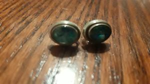 Gorgeous Sterling Silver 925 genuine stone earrings for Sale in New York, NY