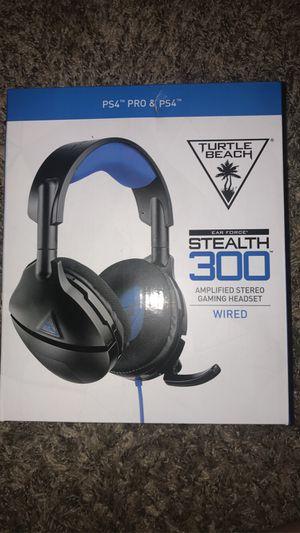 Turltle beach stealth 300 headset for Sale in Wichita, KS