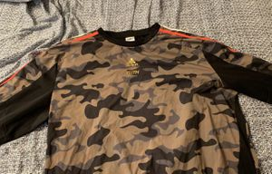 Kith x adidas camo soccer shirt for Sale in Severn, MD