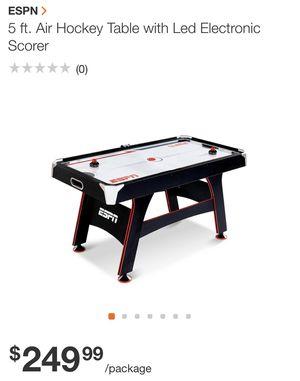 ESPN air hockey table for Sale in Dunwoody, GA