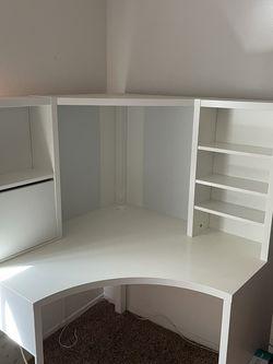 IKEA Corner Desk (white) for Sale in Anaheim,  CA