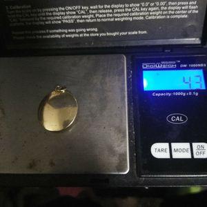 14 karat gold solid scorpion charm for Sale in Detroit, MI