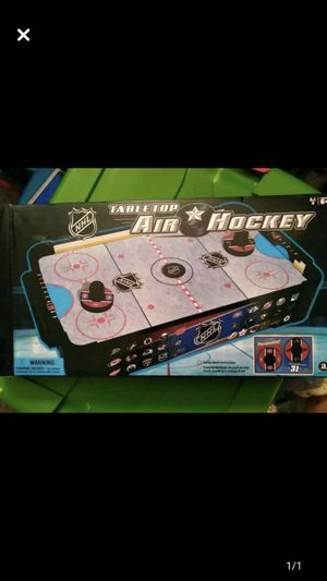 "Kids NHL TableTop Air Hockey 2 Players 16"" by 9"" table top game for Sale in Mount Laurel Township, NJ"