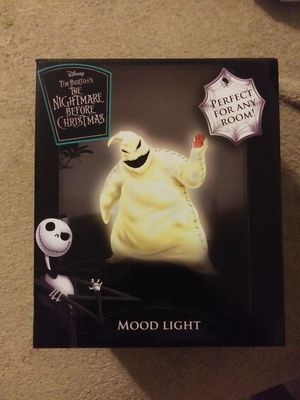 Nightmare before Christmas oogie boogie mood light for Sale in Phoenix, AZ
