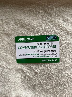 April bus pass for Sale in Providence, RI