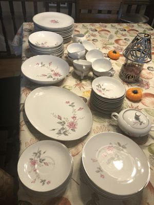 Vintage Imperial Rose Fine China for Sale in Lyon Charter Township, MI