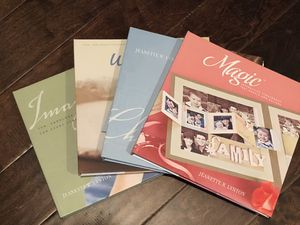 Close to My Heart scrapbooking guide books (4) for Sale in Montgomery, AL