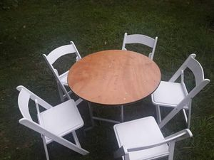 Tables and chairs for Sale in Alexandria, VA