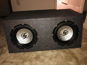 "10"" Subwoofers with amp RF for Sale in Phoenix, AZ"