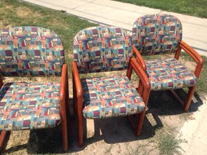 Matching chairs. Good condition for Sale in Salt Lake City, UT