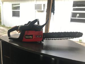 Chainsaw 33cc homelite for Sale in St. Petersburg, FL