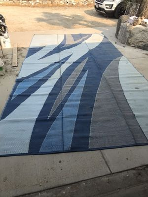 RV/Camper outdoor rug for Sale in Pinon Hills, CA
