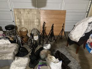 Entire studio photography setup for Sale in Yelm, WA