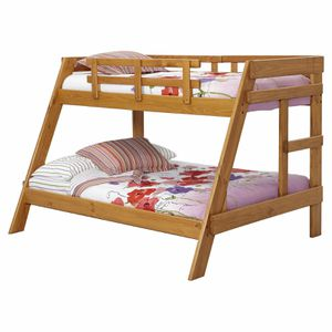 Solid wood Twin and full Bunk Bed for Sale in Hampton, VA