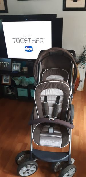 Chicco double strollers for Sale in Tacoma, WA