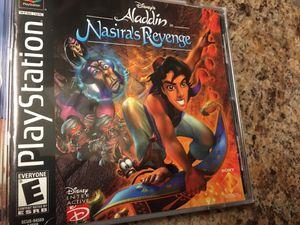 Aladdin Nasira's Revenge Ps1 game for Sale in Riverside, CA